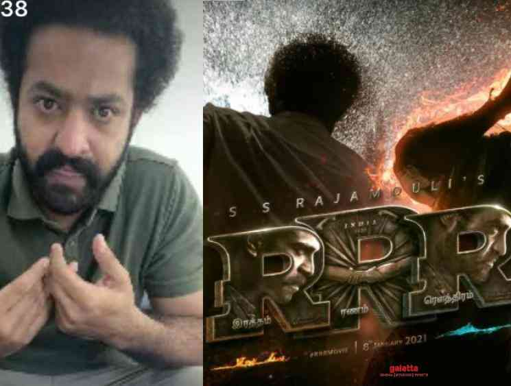 Jr NTR to dub for himself in RRR Tamil version Rajamouli Karky - Tamil Movie Cinema News