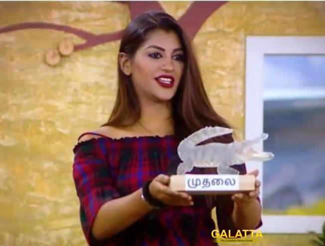 BIGG BOSS AWARDS: Janani rejects her award given by Yashika! What award did she get?