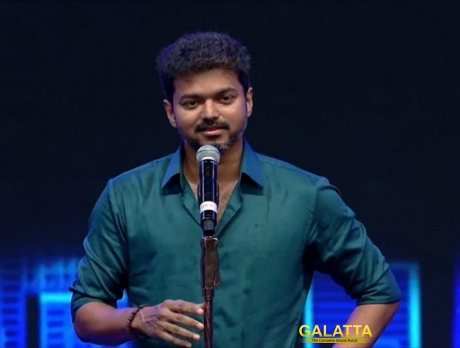 Vijay Sarkar Audio Launch Speech Controversy Politics Nanjil Sampath