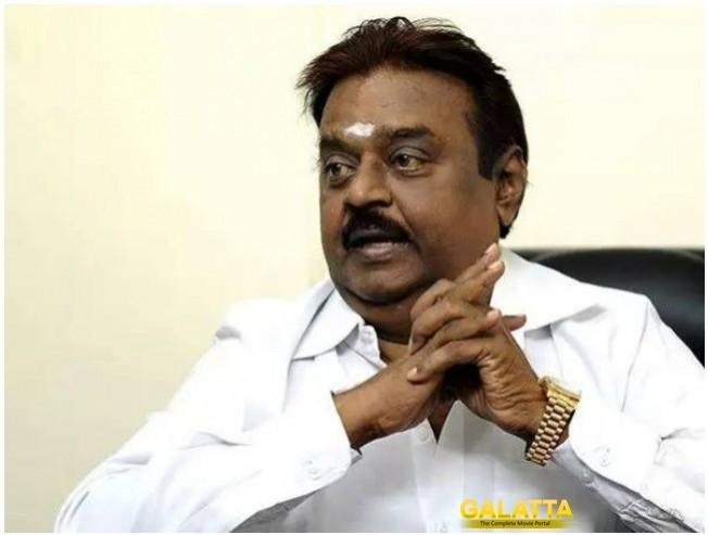 Captain Vijayakanth's new VIRAL VIDEO!