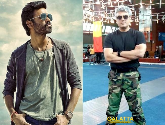 Dhanush and Ajith box office clash