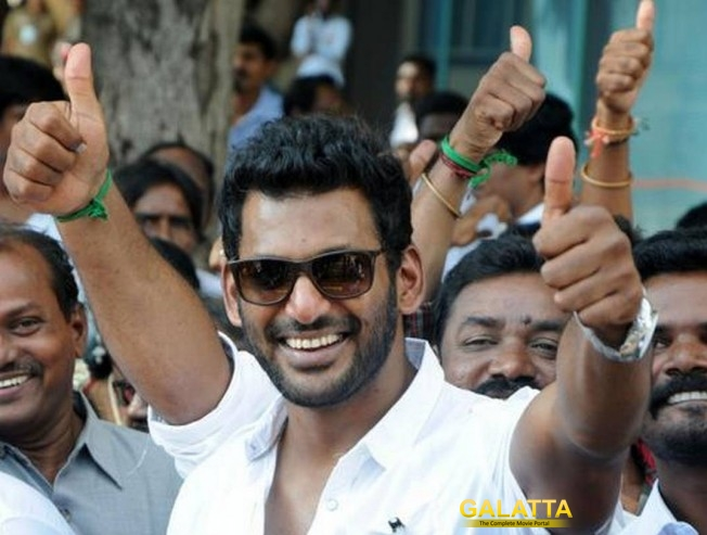Vishal TFPC Anti Piracy Wing Declared Best In The Nation By Central Government