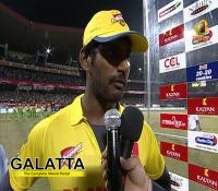 Why Vishal is not a part of CCL 5