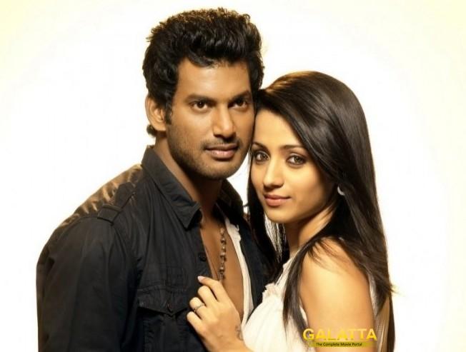 Trisha, Vishal in Trouble