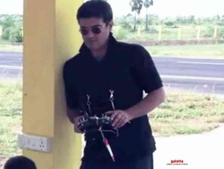 Thala Ajith Kumar aeromodelling session video - Tamil Movie Cinema News