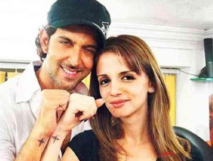 Corona brings Hrithik Roshan closer to his ex wife Sussanne - Tamil Movie Cinema News