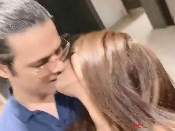 Poonam Pandey and Sam Bombay kissing video - Tamil Movie Cinema News