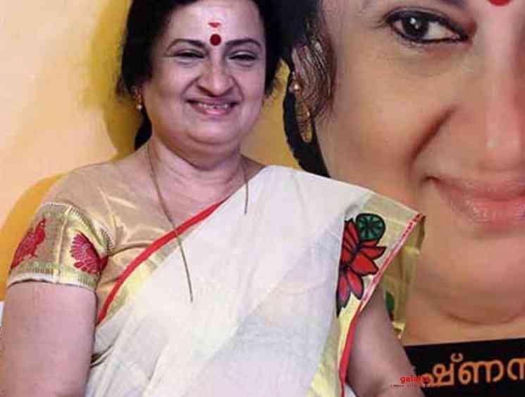 Lyricist and painter Padmaja Radhakrishnan passes away at 68 - Tamil Movie Cinema News