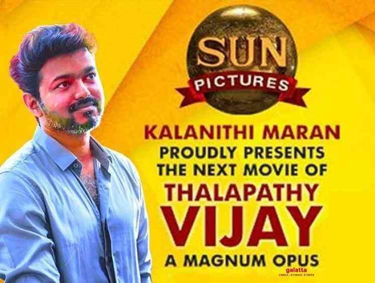 No change in Thalapathy 65 production house Sun Pictures - Tamil Movie Cinema News