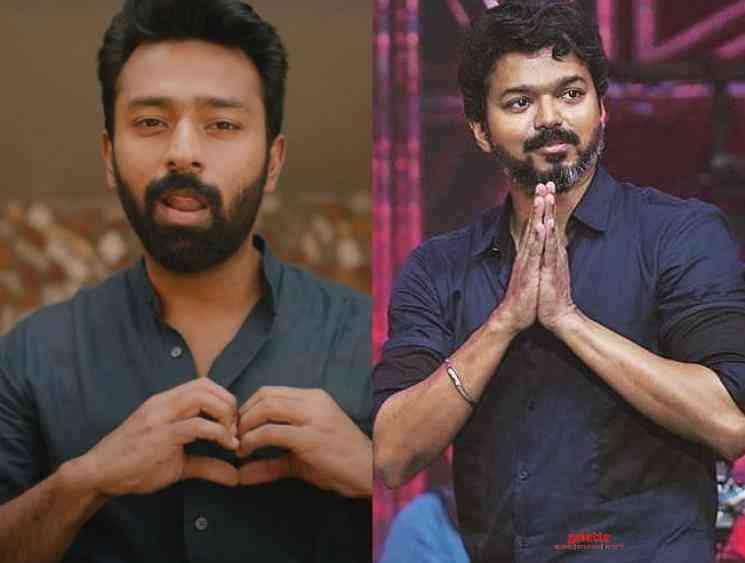 Thalapathy Vijay message to Shanthnu about Oru Chance Kudu song - Tamil Movie Cinema News
