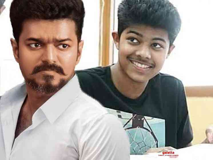 Thalapathy Vijay son Jason Sanjay back in Chennai - Tamil Movie Cinema News
