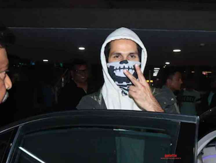 Shahid Kapoor statement after getting hit on the face with a ball - Tamil Movie Cinema News