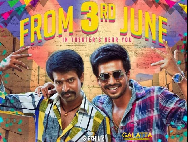 Velainu Vandhutta Vellaikaaran on June 3