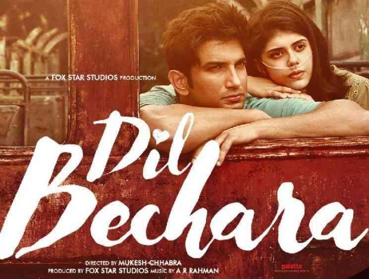 Fans angry over SushantSinghRajput Dil Bechara direct OTT release - Tamil Movie Cinema News