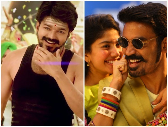 Rowdy Baby Video Song Beats Aalaporaan Thamizhan Dhanush Sai Pallavi Yuvan Maari 2 Mersal Thalapathy Vijay