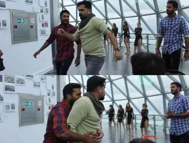 Dance Choreographer Sathish shares unseen throwback video of STR - Tamil Movie Cinema News