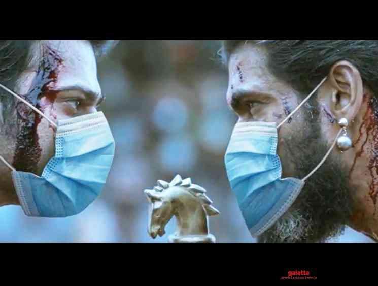 Baahubali Prabhas and Rana wear mask to fight Corona new video - Tamil Movie Cinema News