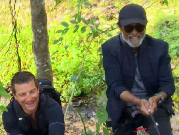 Superstar Rajinikanth Bear Grylls Into the Wild Sneak Peek Video - Tamil Movie Cinema News