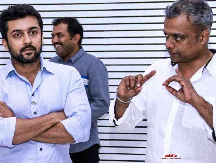 Latest: Gautham Menon to narrate a romantic story to Suriya in 10 days! GVM's latest statement! - Tamil Cinema News