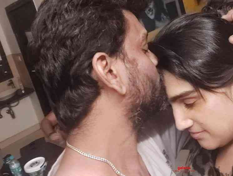 Vanitha Vijayakumar posts kissing picture with husband Peter Paul - Tamil Movie Cinema News