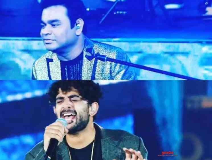 AR Rahman posts a throwback video ft Sid Sriram and Benny Dayal - Tamil Movie Cinema News