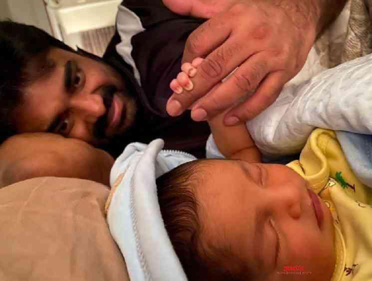 Director Vijay baby son cute picture shared on social media - Tamil Movie Cinema News