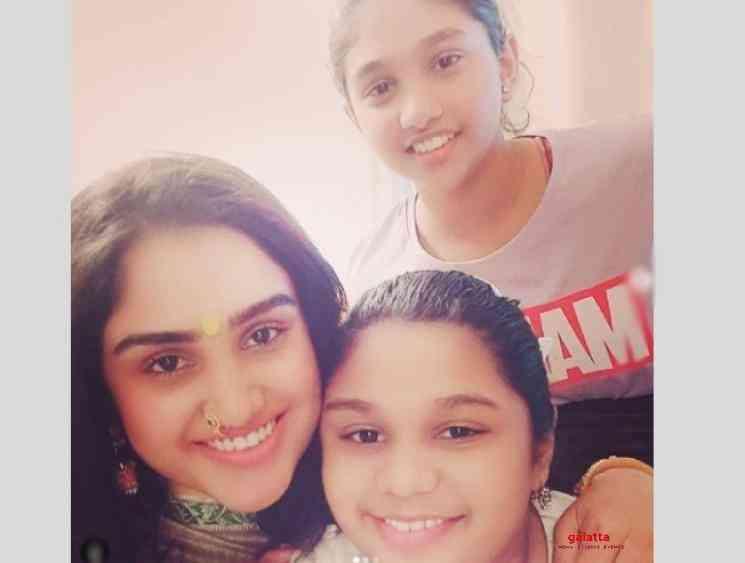 Jovika reacts to her mother Vanitha Vijayakumar wedding - Tamil Movie Cinema News