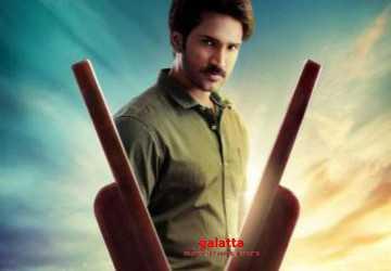 ஆதி நடிக்கும் கிளாப் படத்தின் மோஷன் போஸ்டர் இதோ !- Latest Tamil Cinema News
