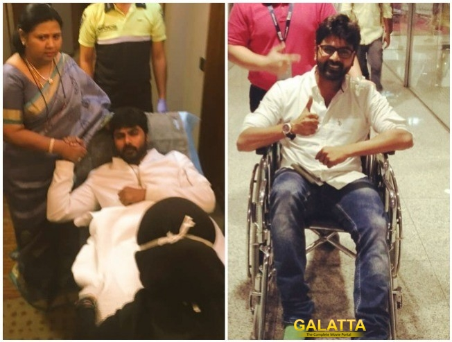 Pidichirukku Ashok Kumar Injured Natchathira Vizha