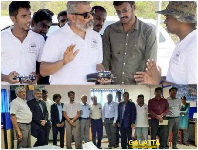Ajith And Team Daksha Create Record For Creating Drone That Flies Non Stop