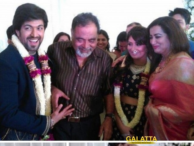 Malavika reporting from Goa about Yash & Radhika Engagement!