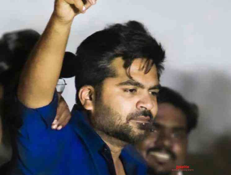 STR Simbu birthday celebration photos videos go viral check - Tamil Movie Cinema News