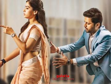 Bheeshma Telugu film first glimpse ft Nithiin Rashmika Mandanna - Tamil Movie Cinema News