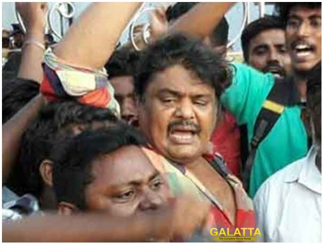 Mansoor Ali Khan For Inflammatory Speech Against Chennai Salem Highway