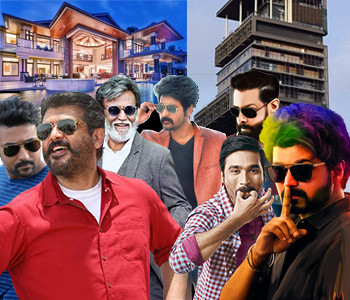 Know where your favourite Tamil film stars reside? - Play Quiz Games