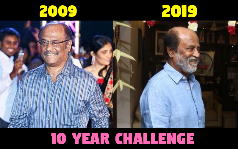 TRENDING: Kollywood Actors 10 Year Challenge!
