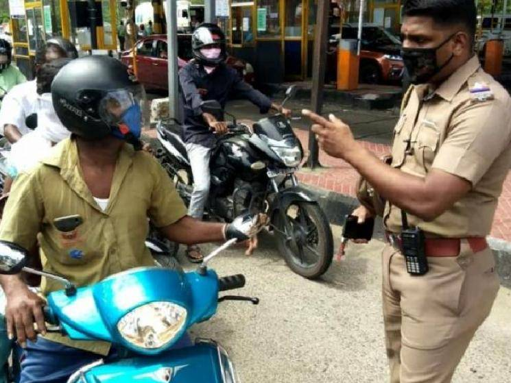 Vehicle checks intensified on Chennai-Chengalpattu border for e-pass!