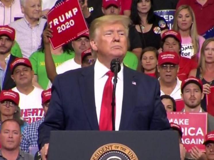Donald Trump calls COVID Kung Flu at an election rally!