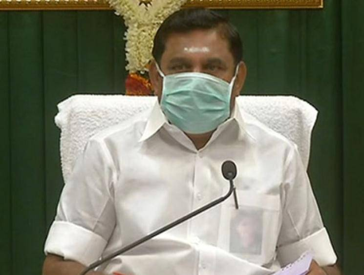 Tamil Nadu Chief Minister Edappadi K. Palaniswami tests negative for coronavirus