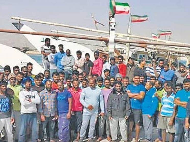 673 Indian fishermen returning from Iran by chartered ship!