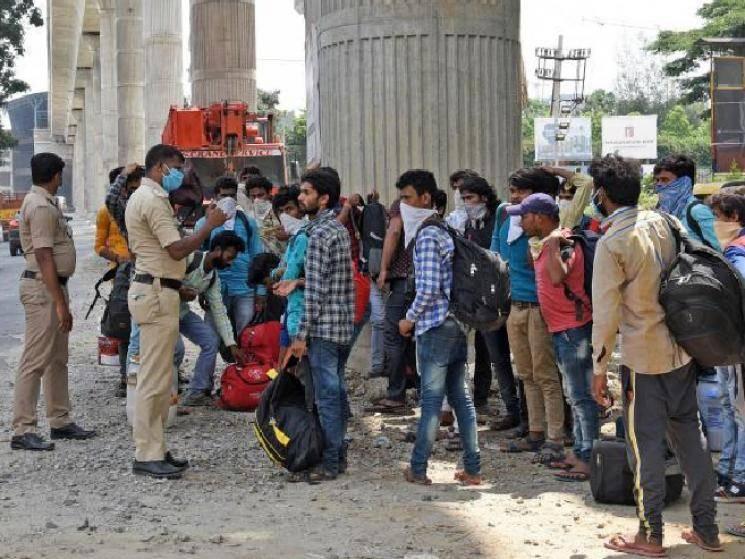 Similar to what happened in Chennai, thousands flee Bengaluru!