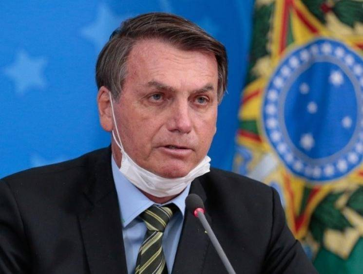 Brazil President Jair Bolsonaro announces he has tested positive for coronavirus
