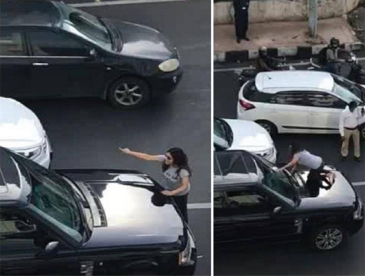 Mumbai woman brings traffic to a standstill after seeing husband inside car with another woman