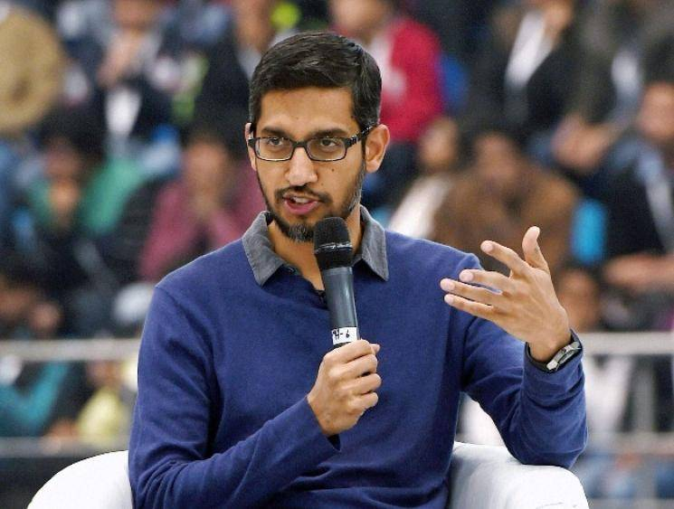 Google CEO Sundar Pichai describes Instagram vs Reality in a simple manner with two pics