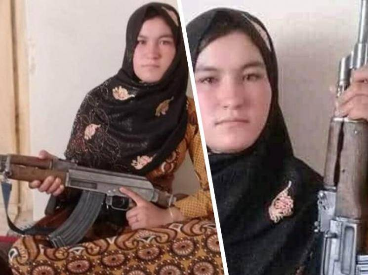 Afghan teen shoots down two Taliban fighters with AK-47 for killing her parents