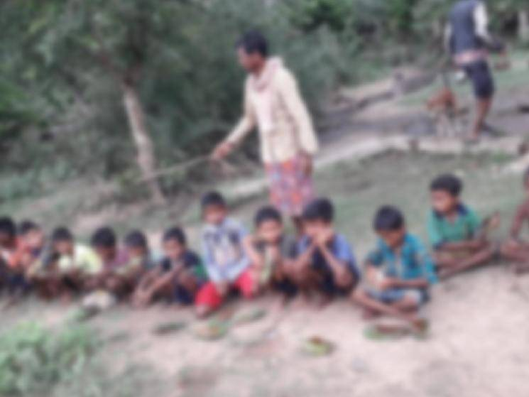Villagers give over 50 children between 10 & 12 liquor to prevent COVID-19!