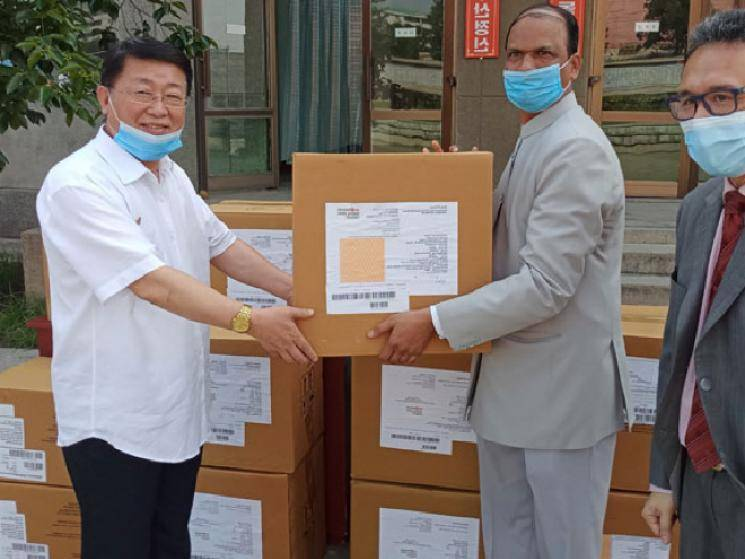 India provides North Korea with USD 1 million worth of medical assistance!