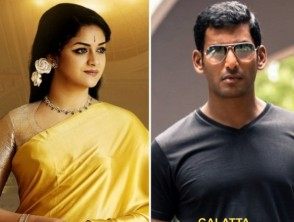 The Stage Is Set For Vishal And Keerthy Suresh