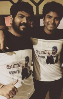 Sivakarthikeyan and Vignesh ShivN Plan It Out For Their Film