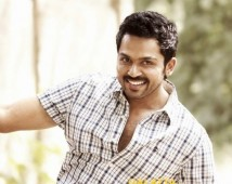 First Time Ever For Karthi!